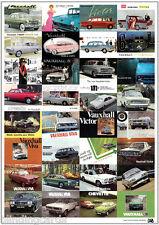 Clásico Vauxhall - Retro Estampa - Velox Cresta VENCEDOR ¡Viva Ventora VX4/90