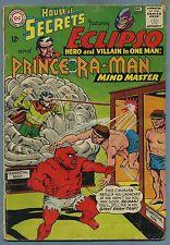 House of Secrets #75 1965 Eclipso Prince Ra-Man DC Comics m