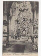 Toledo Catedral Altar Del Trascero 1912 LL Postcard Spain 242a