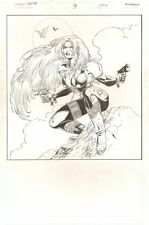 Wildstorm Universe Sourcebook p.3 - Wynonna Earp Pin-Up - 1995 art by Joyce Chin