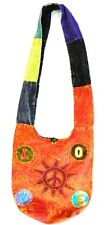 R231 New Trendy & Artistic Shoulder Drop Cotton Bag Hand Made in Nepal