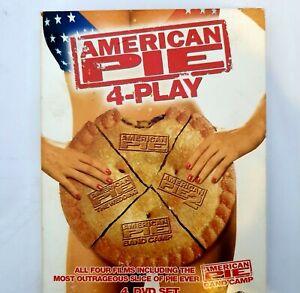 American Pie DVD Region 4 AUS Free Postage - Comedy 4 x Disc Set