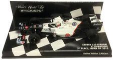 Minichamps Sauber C31 3rd Place Japan GP 2012 - Kamui Kobayashi 1/43 Scale