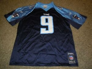 Tennessee Titans STEVE MCNAIR Reebok Football Jersey Youth Large L 14-16 NEW NWT