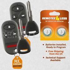 2 for 1999 2000 2001 2002 2003 Acura TL Keyless Entry Remote Fob Car Key