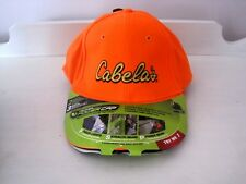 New CABELA'S Blaze Orange Panther Power Brim LED Light Baseball Style Cap