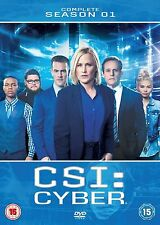 CSI Cyber Season 1 DVD -  Region 2 UK - Free postage - Brand New
