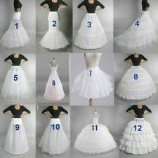 AU Wedding Petticoat Bridal Hoop Crinoline Prom Underskirt Fancy Skirt Slip 2020