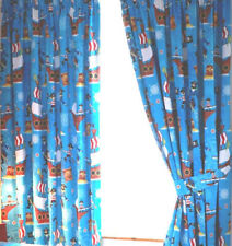 """Sea Pirates Curtains 54s  (72"""" drop x 66"""" wide)"""