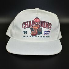 Seattle Sonics Supersonics New Era 1996 Conference Champions Snapback Cap Hat