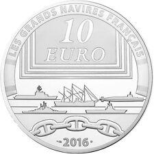 EUR, France, Monnaie de Paris, 10 Euro, Navire, Le Charles De Gaulle #98185