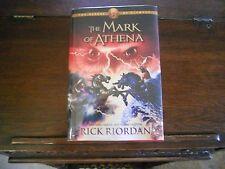 MARK OF ATHENA, Rick Riordan, 1st ed/1st print 2012 HCDJ