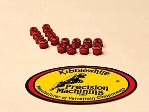 Kibblewhite Head Intake & Exhaust Valve Seals Kawasaki Ninja ZX14 ZX-14 '06 -'11