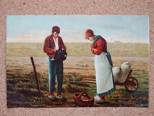 R&L Postcard: Misch & Stock Millet's Masterpieces Series 106 Praying for Harvest