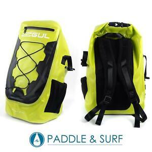 Gul 35L Dry Rucksack Sulphur/Black Waterproof Welded Seams Backpack Bag