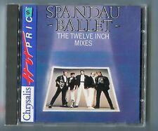 "Spandau BALLET CD The Twelve Inch Mixes 12"" © 1986 Chrysalis HOT PRICE Series"