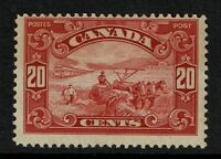 Canada SG# 283, Mint Hinged, Light ink remnant - Lot 071717