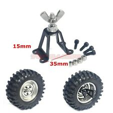 RC 1/10 Scale Truck Accessories Full Metal Rear Spare Tire Holder + Hardware