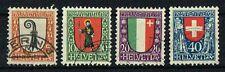 Schweiz 1923 Michel 185 - 188 Pro Juventute gestempelt