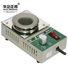 Mini Crisol de soldadura desoldadura baño placa de titanio 38 mm 220 V 150 W eléctrico solderin