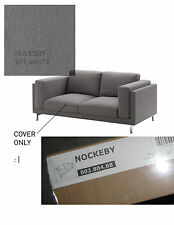 IKEA NOCKEBY RISANE GRAY Replacement Loveseat Sofa Couch Slipcover Cover TEXAS