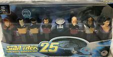 Star Trek Collector's Series Pez Candy Dispenser Set of 8 Never Opened