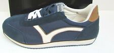 Madden by Steve Madden Size 12 Blue Leather Sneakers New Mens Shoes