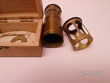 Mifalu - Taschenmikroskop mit orginale Holzkiste