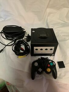 Nintendo GameCube Console UK (PAL) Edition - Black With Controller & Cables