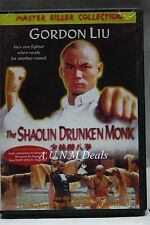 The Shaolin Drunken Monk gordon liu master killer edition ntsc import dvd