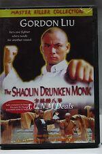 The Shaolin Drunken Monk gordon liu master killer edition ntsc import dvd