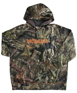 Nomad Youth Camo Hoodie Hunting Fleece Lined Camouflage Pullover Kangaroo Pocket