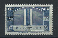 France N°317** (MNH) 1936 - Inauguration monument de Vimy