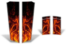 Chevy Camaro Hood & Trunk Race Stripes Graphics Stickers Decals 10-15 ORNG FLAME