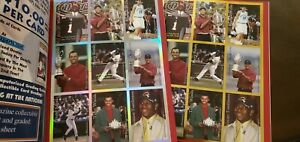 SPORTS CARD INVESTOR 1st Vol 2001 2 copies w/uncut GOLD and Reflective edges