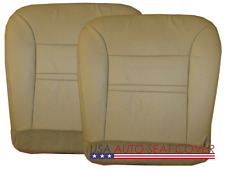00 -02 Ford  Excursion Limited 5.4L  V8 GAS D. P. Bottom Leather Seat cover TAN