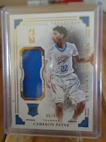 2015-16 PANINI NATIONAL TREASURES NBA MATERIAL CAMERON PAYNE RC JERSEY 46 /99