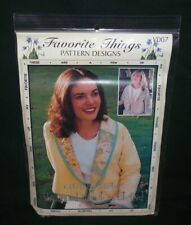 New Favorite Things Violets R Blue SHAWL JACKET - PATCHED Sewing Pattern V007