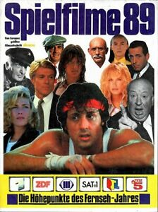 CINEMA Spielfilm-JAHRBUCH 1989  RAR NEU & OVP