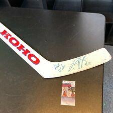 Patrick Roy Signed KOHO Game Used Goalie Hockey Stick JSA COA Montreal Canadiens