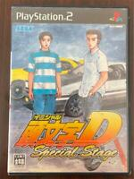 PS2 Initial D Special Stage PlayStation 2 SEGA GAMES Japan Import