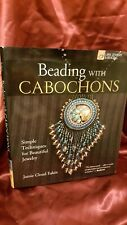 """Lark Jewelry & Beading"" Hardback Book - Beading with Cabochons - Crafting /Jewe"
