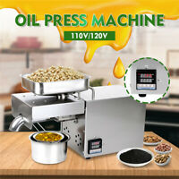 Automatic Oil Press Machine Stainless Steel Presser Intelligent Control  1