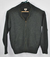 Vintage  Wool Blend Lacoste Sport Full  Zip Sweater Sz 4/Medium