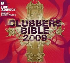 Clubbers Bible 2009 (NEW & SEALED 3 x CD) Damian Wilson Lee Cabrera Inaya Day