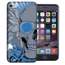 MUNDAZE Apple iPhone 6 Design Case - Blue Skull Wing Cover