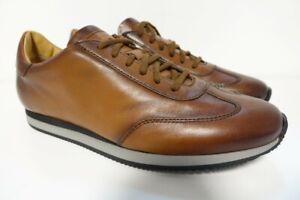 SANTONI Schuhe Herrenschuhe Freizeitschuhe Sneaker - GR. 10 (44) - NEU