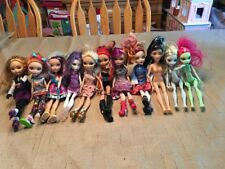 Monster High Doll lot of 11 Monster High /Ever After High Dolls barbie doll!
