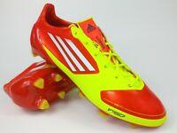 Adidas Mens Rare F50 adizero TRX FG SYN V23954 Yellow Orange Soccer Cleats Boots