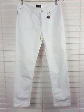 AJ ARMANI JEANS sz 13 (or 31 us ) womens white Jeans / Pants RRP$500+ [#1227]